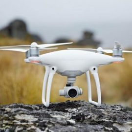 drone phantom 4 com acessorios