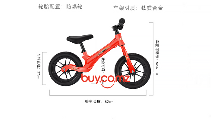 700 GYM-OUTDOOR SPORT-CHILDREN'S BALANCE BIKE-WN-12 8