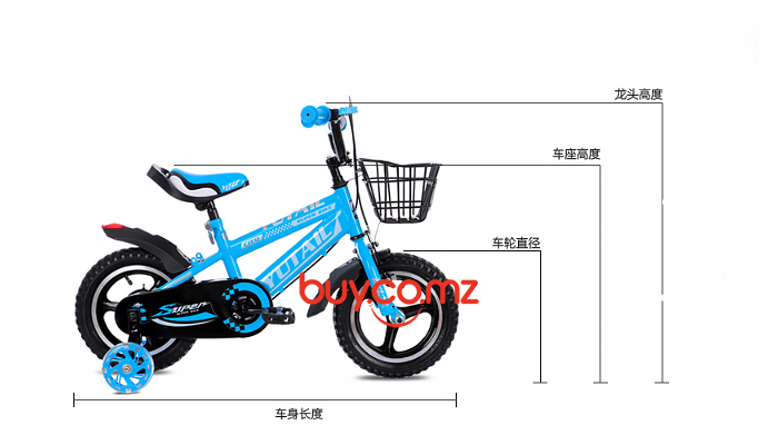 700 GYM-OUTDOOR SPORT-CHILDREN'S BIKE-YTL-B002 9